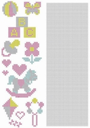 Crosscraft free pattern-1 CCPAT003 'baby'