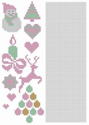 Crosscraft free pattern-1 CCPAT002 'christmas'