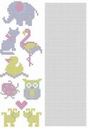 Crosscraft free pattern-1 CCPAT001 'animals'