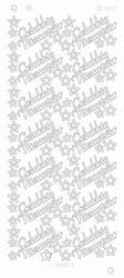 Stickervel Platinum CD3017 Gelukkig Nieuwjaar