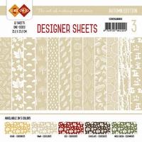 Card Deco Designer Sheets CDDSLB003 Autumn Colors Lichtbruin