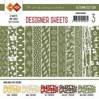 Card Deco Designer Sheets CDDSMG003 Autumn Colors Mosgroen