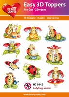 Hearty Crafts Easy 3D Toppers HC10500 Christmas Floristy 1