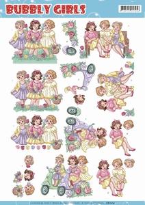 Yvonne Bubbly Girls 3D Knipvel CD11214 Spring