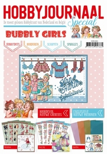 Hobbyjournaal HJBS10001 Bubbly Girls Special Stamp & die