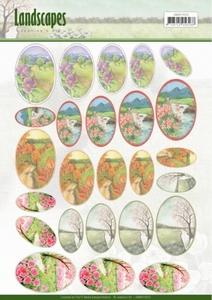 Scenery mini knipvel Jeanine's Art JAMIN10003 Landscapes