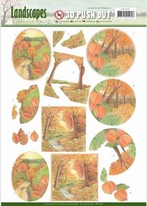 3D Pushout Jeanine's Art SB10297  Landscapes - Fall