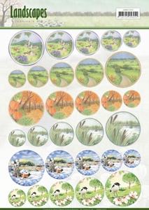 Scenery mini knipvel Jeanine's Art JAMIN10002 Landscapes
