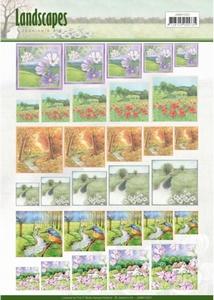 Scenery mini knipvel Jeanine's Art JAMIN10001 Landscapes