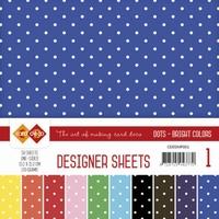 Card Deco Essentials Designer Sheets CDDSMP001 Bright Colors