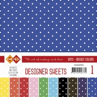 Card Deco Essentials Designer Sheets CDDSMP001 Bright Colors