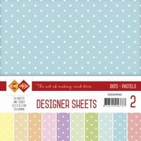 Card Deco Essentials Designer Sheets CDDSMP002 Pastels
