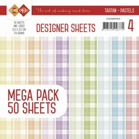 Card Deco Essentials Designer Sheets CDDSMP004 Pastels