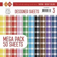 Card Deco Essentials Designer Sheets CDDSMP003 Bright Colors