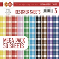 Card Deco Essentials Designer Sheets CDDSMP003 Bright Colors