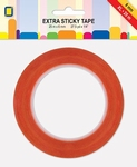 Jeje Extra Sticky tape XL 3.3187 dubbelzijdige Tape 6 mm