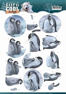 3D Knipvel Amy CD11203 Keep it Cool Penguin