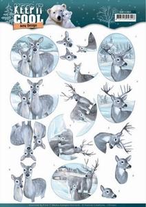 3D Knipvel Amy CD11201 Keep it Cool Deers