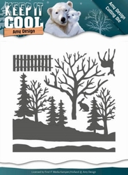 Die Amy Design ADD10160 Keep it Cool Forest