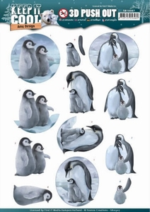 3D Stansvel Amy SB10307 Keep it Cool Penguin