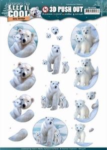 3D Stansvel Amy SB10306 - HJ16401 Keep it Cool Polar Bears