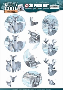 3D Stansvel Amy SB10305 Keep it Cool Deers