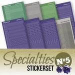 Stickerset Specialties 5 SPECSTS005