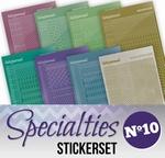 Stickerset Specialties 10 SPECSTS010