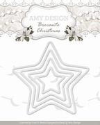 Amy Design Die Brocante Christmas ADD10033 Mini Star Frames