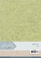 Card Deco Essentials Glitter Paper CDEGP010 Gold