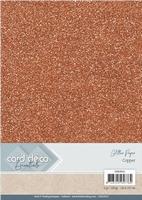 Card Deco Essentials Glitter Paper CDEGP011 Copper