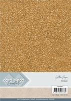 Card Deco Essentials Glitter Paper CDEGP009 Bronze