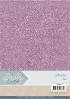 Card Deco Essentials Glitter Paper CDEGP008 Pink