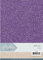 Card Deco Essentials Glitter Paper CDEGP015 Purple