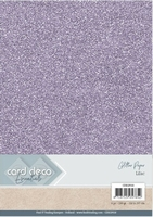 Card Deco Essentials Glitter Paper CDEGP018 Lilac