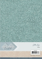 Card Deco Essentials Glitter Paper CDEGP020 Mint