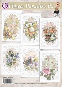 Creatief Art SWK85-0016-03 Staf Wezenbeek Flower Paradise 02
