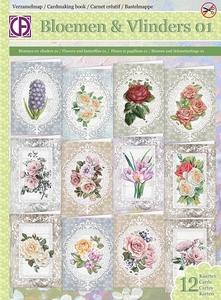 Verzamelmap Creatief Art VM65-001 Bloemen & Vlinders 01