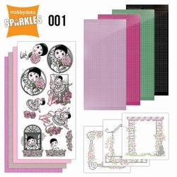 Sparkles SPDO001 Set 1 Pierrot