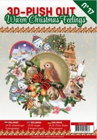 A4 Push Out Book 3D PO10017-NL Warm Christmas Feelings