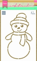 MD Craft stencil PS8018 Snowman