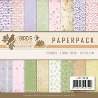 Paperpack Jeanine JAPP10008 Birds and Flowers