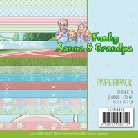 Yvonne Creations Paperpack YCPP10020 Funky Nanna's