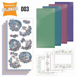 Sparkles SPDO003 Set 3 Lovely Pets