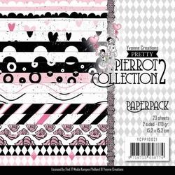 Paperpack Yvonne YCPP10021 Pretty Pierrot 2