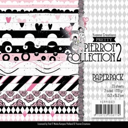 Paperpack Yvonne YCPP10021 Pretty Pierrot 2