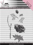 Dies Yvonne YCD10163 Pretty Pierrot 2 Rose