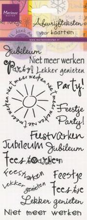 Marianne Design Rub-ons jubileum