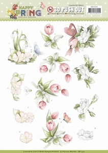 Marieke 3D Stansvel Happy Spring SB10330 Happy Spring
