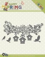 Marieke Die Happy Spring PM10148 Happy Birdhouses